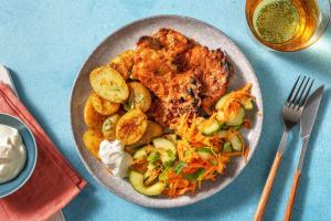 Poulet tandoori & pommes de terre à l'indienne image