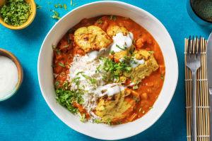 Poulet tikka masala et riz basmati image