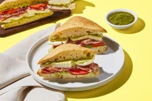 Prosciutto Caprese Sandwiches image