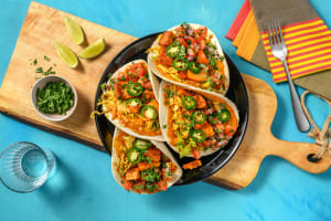 Pulled beans tacos image
