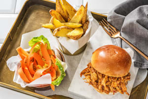 Pulled-Poulet-Burger image