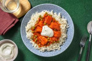 Punjabi Style Matar Paneer Curry image