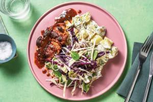 Quick BBQ Chicken & Creamy Potato Salad image