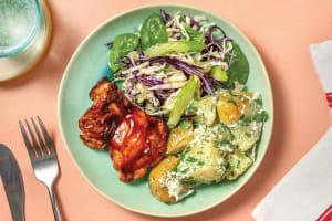 Quick BBQ Chicken & Potato Salad image