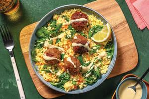 Quick Beef & Fetta Meatballs image