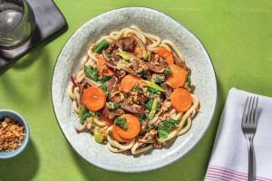 Easy Coconut & Lemongrass Beef Noodles image