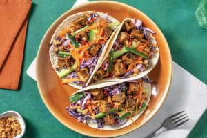 Quick Japanese Tofu Tacos image