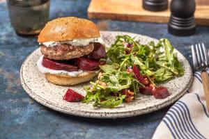 Quick Minted Lamb Burger image