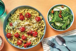 Pesto & Cherry Tomato Pasta image