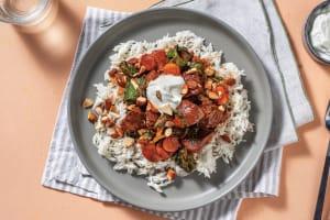 Quick Ras El Hanout Beef Stew & Rapid Rice image
