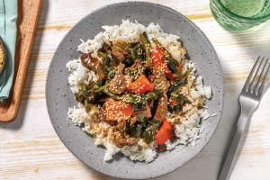 Quick Teriyaki Beef & Veggies image