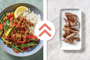 Quick Thai Beef Strip Bowl image