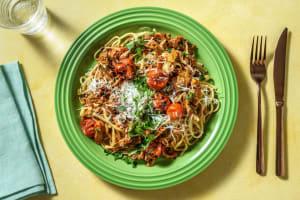 Tomato Pulled Pork Ragu and Linguine image