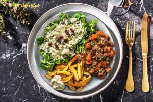 Ragoût de veau & frites maison image
