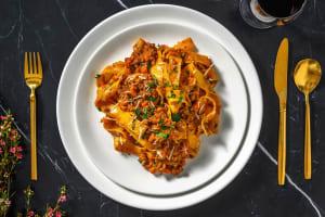 Ragù alla bolognese, pappardelle & parmesan image