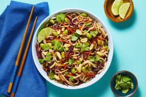 Rainbow Thai Noodle Toss image