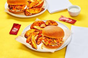 Red Hot Cheddar Turkey Burgers image