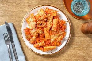 Rigatoni uit de oven met kippendijreepjes image