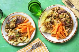 Rinderhüftsteak mit Champignon-Senf-Soße image