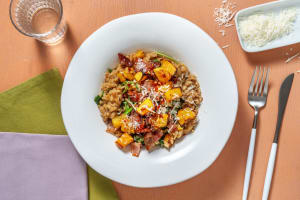Bacon and Butternut Squash Risotto image