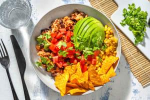 Mexicaanse tomatenrijst met pittige tortillachips image