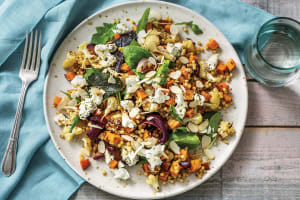 Spiced Cauliflower & Goat Cheese Salad image