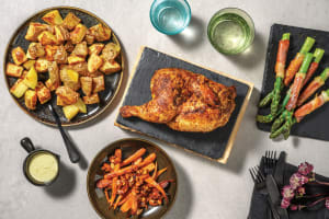 Roast Chicken & Duck Fat Potatoes image
