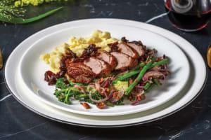 Roast Duck & Chive-Parmesan Mash image