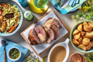 Roast Lamb and Salsa Verde image