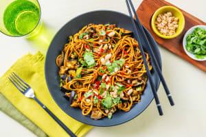 Roasted Aubergine Noodles image