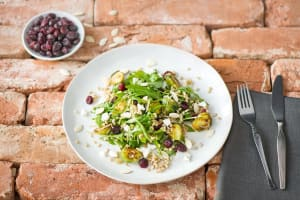 Roasted Brussels Sprout and Barley Salad image