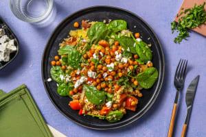 Roasted Chickpea and Bulgur Salad image