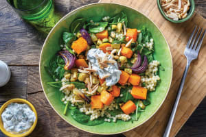 Roasted Pumpkin & Pearl Couscous Salad image