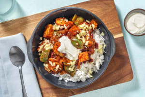 Roasted Sweet Potato and Kidney Bean Chilli image
