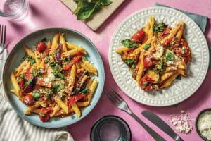 Roasted Vegetable & Red Pesto Penne image