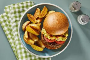 Rockin' Guac'in Pork Burgers image