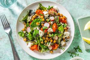 Rostad kikärt- och tomatsallad image