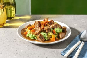 Runderstoof in bier met broccolipuree image
