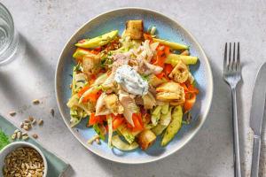 Salade à la truite fumée, fenouil & pomme image