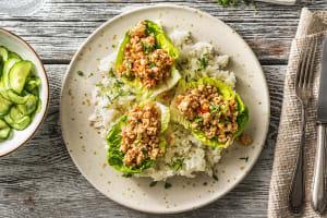 Salade asiatique au poulet épicé, gingembre & coriandre image