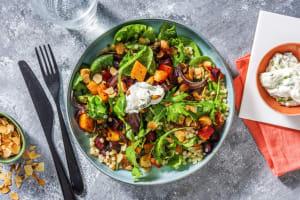 Salade couscous perlé, betterave & potiron rôtis image