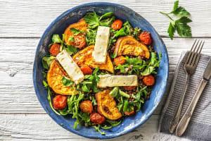 Salade de feta rôtie au miel et patates douces image