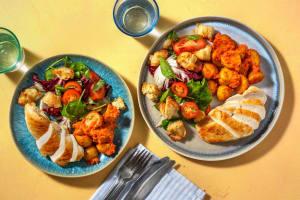 Salade de poulet & panzanella à l'italienne image