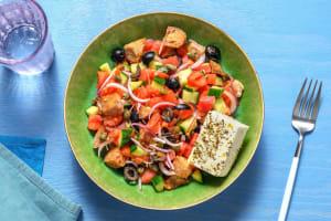 Salade de tomates & feta à la crétoise image