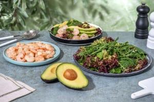 Salade met garnalen image