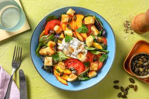 Salade nectarine, tomates & burrata image