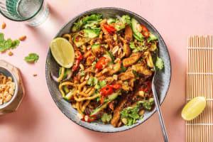 Salade thaïlandaise aux émincés végétariens image