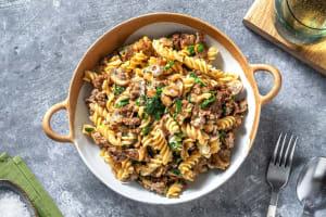 Salisbury-Style Beef Fusilli image