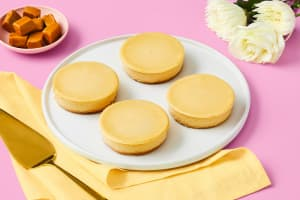 Salted Caramel Mascarpone Cheesecake image