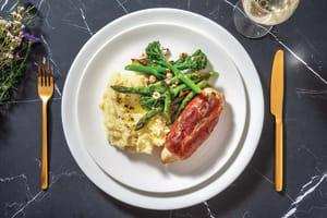 Saltimbocca Chicken & Truffle-Parmesan Mash image